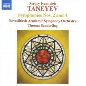 Taneyev: Symphonies 2 & 4 - Symphonies Nos.2 & 4 (CD)