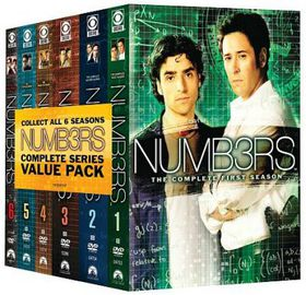 Numb3rs:Complete Series Pack - (Region 1 Import DVD)