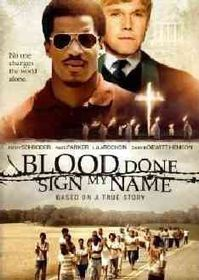 Blood Done Sign My Name - (Region 1 Import DVD)