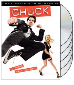 Chuck:Complete Third Season - (Region 1 Import DVD)