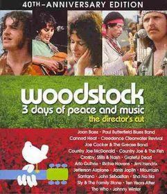 Woodstock 3 Days Dc 40th Ann Uce - (Region A Import Blu-ray Disc)