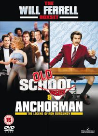 Old School (Unseen) / Anchorman: The Legend of Ron Burgundy - (Import DVD)