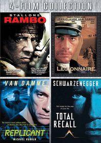 Rambo/Legionanaire/Replicant/Total Re - (Region 1 Import DVD)