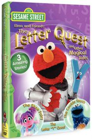 Elmo and Friends:Letter Quest and Oth - (Region 1 Import DVD)