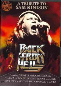 Back from Hell:Tribute to Sam Kinison - (Region 1 Import DVD)