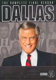 Dallas:Complete Fourteenth Season - (Region 1 Import DVD)