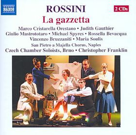 Rossini: La Gazzetta - La Gazetta (CD)
