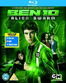 Ben 10 - Alien Swarm - (Import Blu-ray Disc)