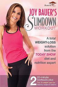 Joy Bauer's Slimdown Workout - (Region 1 Import DVD)