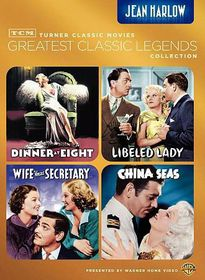 Tcm Greatest Films:Jean Harlow - (Region 1 Import DVD)