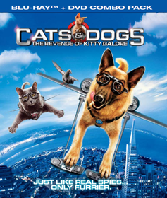 Cats & Dogs 2: The Revenge of Kitty Galore (2010) (Blu-ray/DVD Combo)  DTS-HDMA