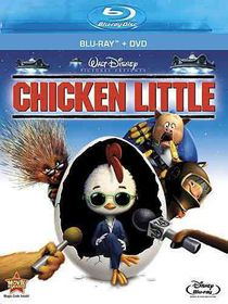 Chicken Little - (Region A Import Blu-ray Disc)