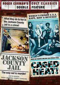 Jackson County Jail & Caged Heat:Roge - (Region 1 Import DVD)