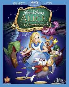Alice in Wonderland 60th Ann Ed - (Region A Import Blu-ray Disc)