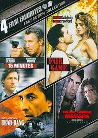 4 Film Favorites:Fast Action - (Region 1 Import DVD)