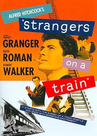 Strangers on a Train - (Region 1 Import DVD)