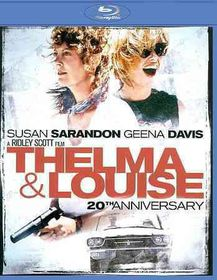 Thelma and Louise 20th Anniversary - (Region A Import Blu-ray Disc)