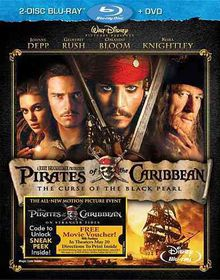 Pirates of the Caribbean:Curse of the - (Region A Import Blu-ray Disc)