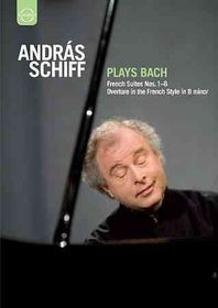 Andras Schiff Plays Bach - (Region 1 Import DVD)