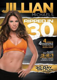 Jillian Michaels Ripped in 30 - (Region 1 Import DVD)