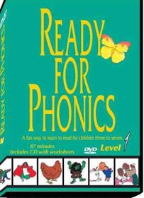Ready for Phonics Level 1 - (Region 1 Import DVD)