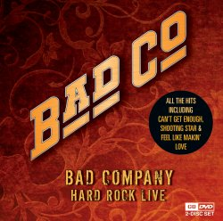 Bad Company - Hard Rock Live (CD + DVD)