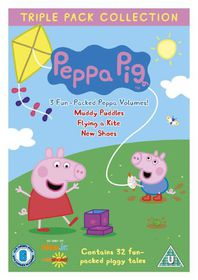 Peppa Pig: Muddy Puddles/Flying a Kite/New Shoes - (Import DVD)