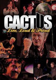 Cactus: Live, Loud and Proud - (Import DVD)