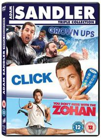 Click/Grown Ups/You Don't Mess With the Zohan - (Import DVD)