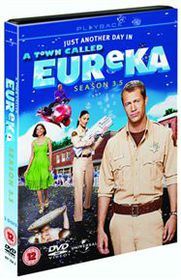 A   Town Called Eureka: Season 3.5 - (Import DVD)