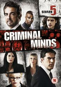 Criminal Minds: The Fifth Series - (Import DVD)