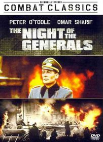Night of the Generals - (Region 1 Import DVD)