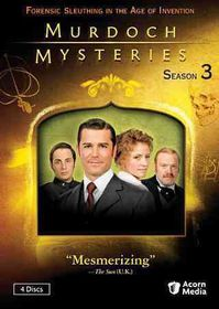 Murdoch Mysteries Season 3 - (Region 1 Import DVD)