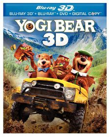 Yogi Bear 3d - (Region A Import Blu-ray Disc)
