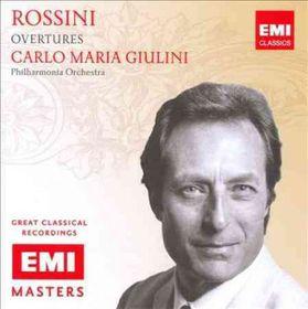 Rossini / Giulini, Carlos - Overtures - Remastered (CD)