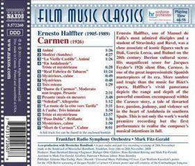 Halffter / Frs / Fitz-gerald - Carmen (Music For The 1926 Silent Film) (CD)