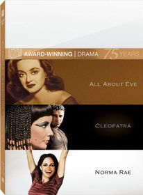 All About Eve/Cleopatra/Norma Rae - (Region 1 Import DVD)
