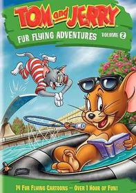 Tom and Jerry:Fur Flying Advent V2 - (Region 1 Import DVD)