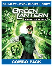 Green Lantern:Emerald Knights - (Region A Import Blu-ray Disc)