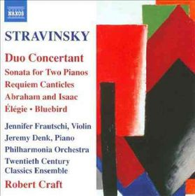 Stravinsky / Craft / Frautschi / Burgess / Pao - Duo Concertant (CD)