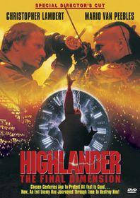 Highlander:Final Dimension - (Region 1 Import DVD)