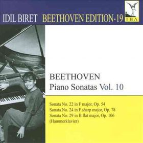 Beethoven / Biret - Beethoven Edition 19: Piano Sonatas 10 (CD)