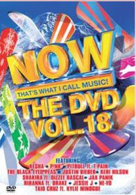Now The DVD - Vol.18 - Various Artists (DVD)