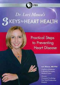 Dr Lori Mosca 3 Keys to Heart Health - (Region 1 Import DVD)
