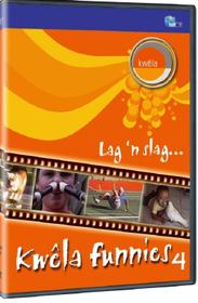 Kwêla  Funnies 4 (DVD)