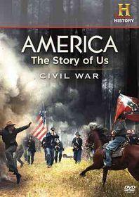 America:Story of Us Civil War - (Region 1 Import DVD)