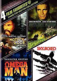 4 Film Favorites:Charleton Heston - (Region 1 Import DVD)