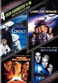4 Film Favorites:Sci Fi - (Region 1 Import DVD)