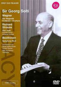 Sir Georg Solti Conducts Wagner Strau - (Region 1 Import DVD)