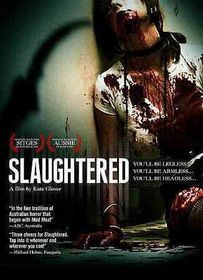 Slaughtered - (Region 1 Import DVD)